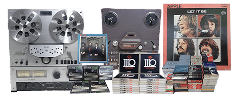 オープンリール・DAT・カセットテープ