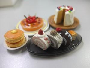 ミニサンプル ケーキ