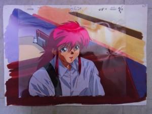 幽遊白書のセル画をお譲り頂きました千葉県在住のS様
