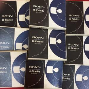 各種オープンリールテープまとめてお譲りいただきました奈良県のA様