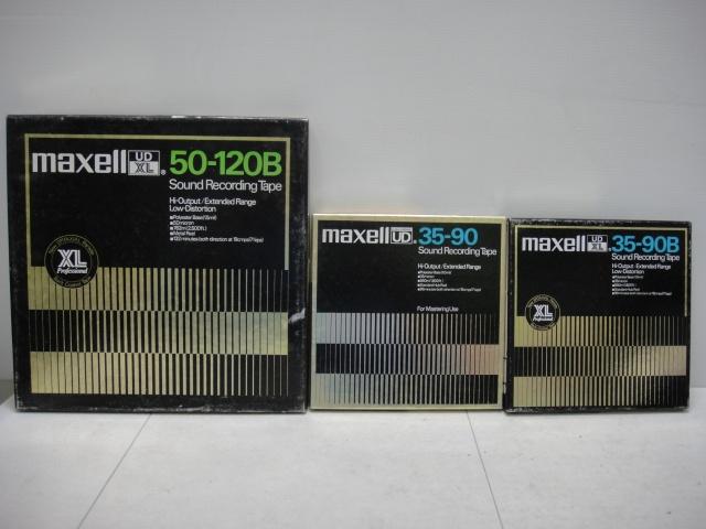 オープンリールテープ マクセル