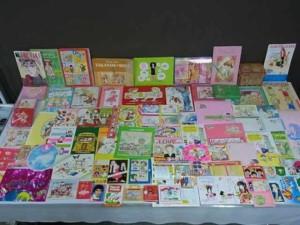 少女漫画の付録をまとめてお譲りいただきました茨城県のY様
