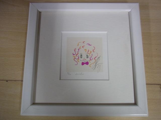 松田聖子 版画
