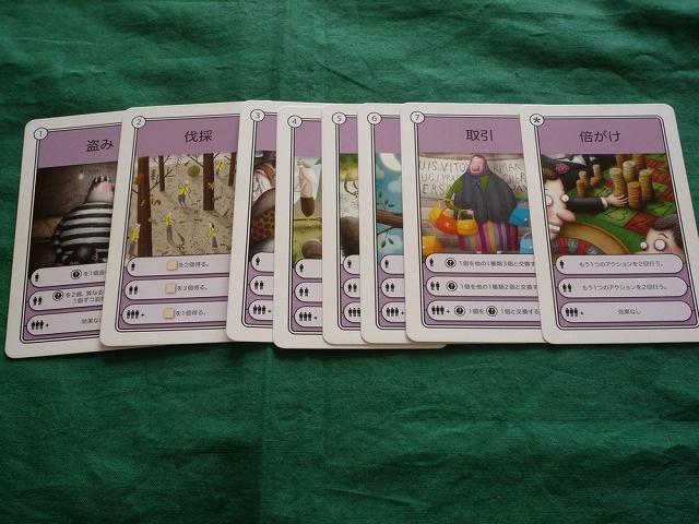 カードの種類
