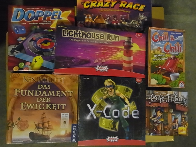 ドッペルXなど大量のボードゲーム