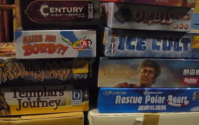 シロクマ救援隊など大量のボードゲーム