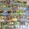多数の旧裏面ポケモンカード
