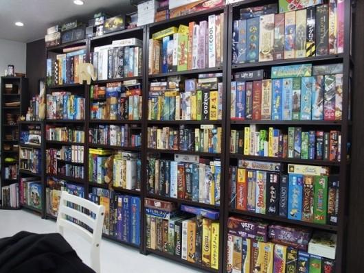 店内で遊ぶことができるボードゲーム