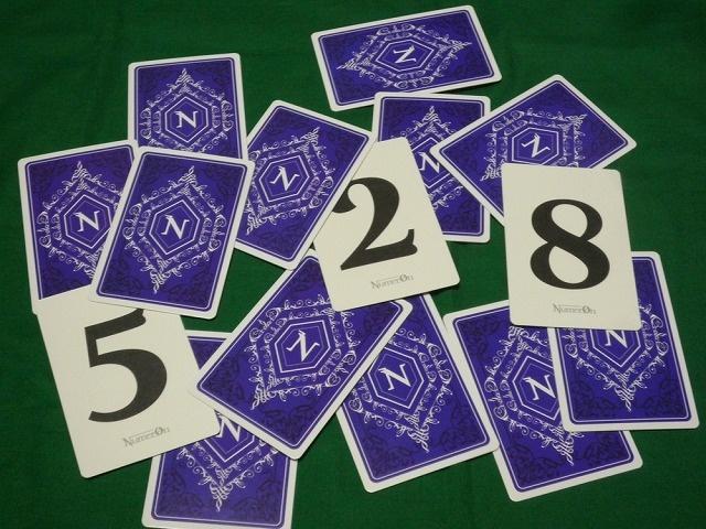 推理系ボードゲーム『ヌメロン』