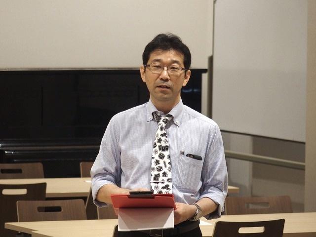 会長を務める生田先生