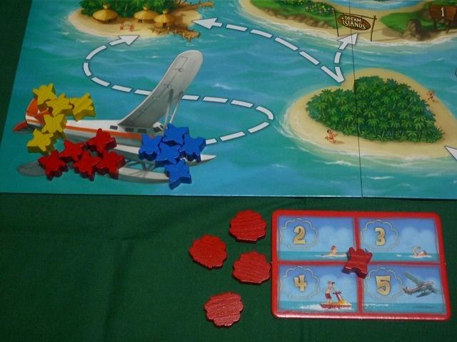 ゲームボード飛行機