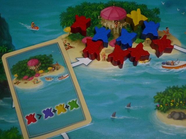 示された島で一番多い例