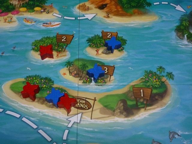中央の群島得点
