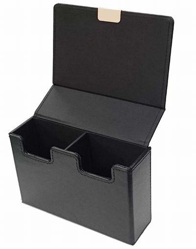 アクラス 合皮製スリムカードケース